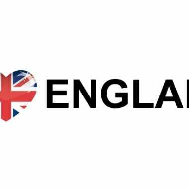 I love england stickers