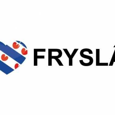 I love fryslan sticker