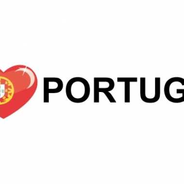I love portugal sticker