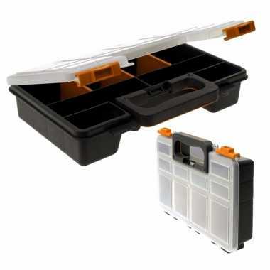 Opberg/sorteer box met 8 vakken 29 cm