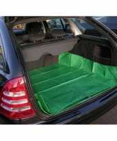 Auto kofferbak bescherming zeil groen 180 x 123 cm