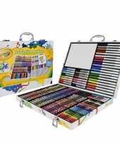 Kleurkoffer 150 delig voor kids